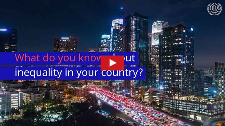 Video: What do you know about inequality in your country?