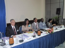 "The President of the Caribbean Congress of Labour, Senator David Massiah, reiterated the tripartite support for the Pact and its provisions. He said that there was a need for a ten-year plan to aid the region in handling the recession. ""We also have the capacity to create early warning systems to advise us of impending turmoil in our economic system,"" Massiah said."