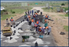 The Expanded Public Works Programme (EPWP) was established in 2004 to provide essential services and infrastructure facilities to disadvantaged communities, including skills development and training opportunities for the unemployed. It was further developed under the auspices of the Employment Intensive Investment Programme (EIIP), an ILO programme which supports governments, employers, unions and community-based organizations to enhance investment in infrastructure development and improve community access to basic goods and services.