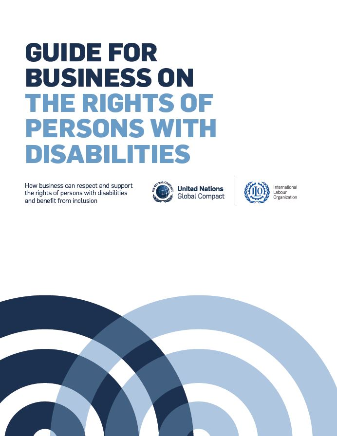Joint un global compact and ilo guide for employers on disability tools publicscrutiny Choice Image
