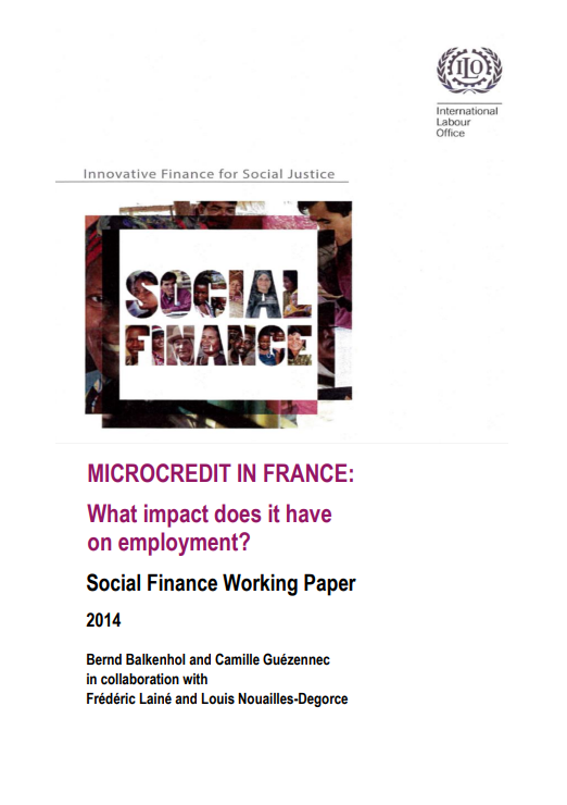 Microcredit in France: What impact does it have on employment?