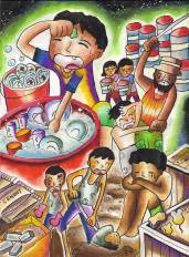 View Children S Drawings On Child Labour And Find Out How To Use Art