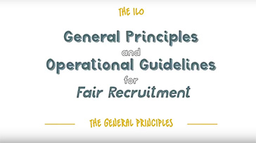 ILO General Principles on Fair Recruitment
