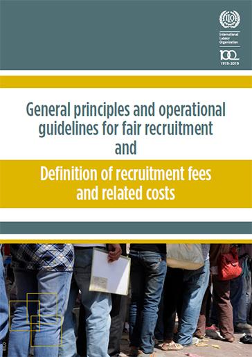 Fair recruitment initiative: General principles and operational