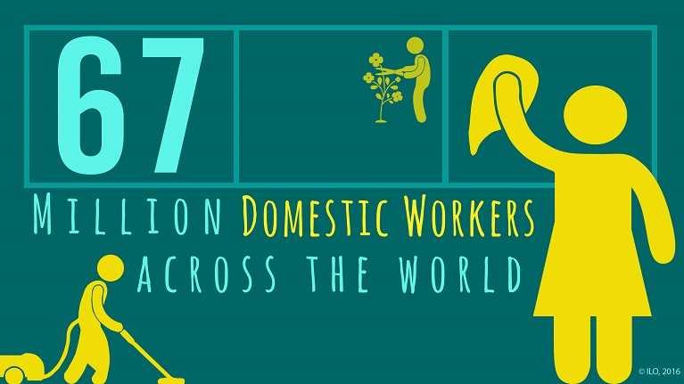 domestic work About domestic workers untapped potential more women in india are receiving an education than ever before and the country has recorded consistent economic growth.