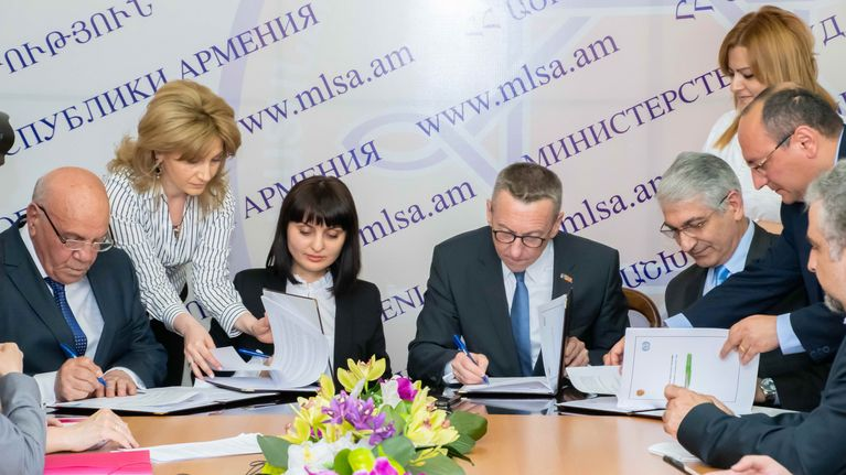 ILO, Armenia Sign New Decent Work Country Programme