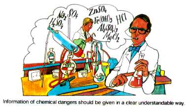 Introduction To Safety In The Use Of Chemicals