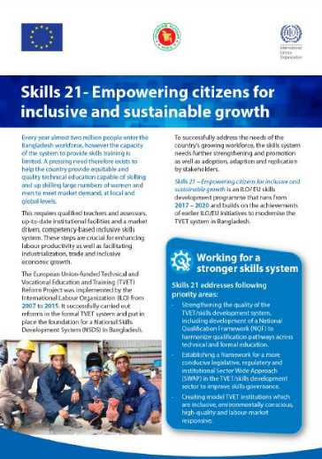 Skills 21 – Empowering citizens for inclusive and
