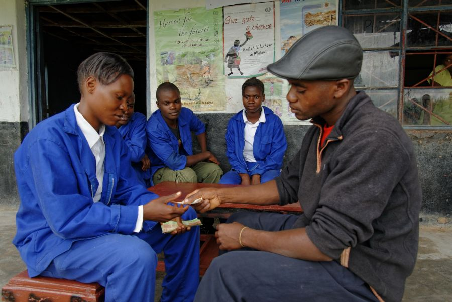 Besides learning a vocation, these trainees also learn the business skills they need to set up their own enterprise.