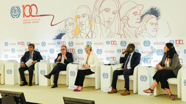 """Resultado de imagen para """"Un sistema multilateral eficaz, clave para un futuro del trabajo equitativo"""""""
